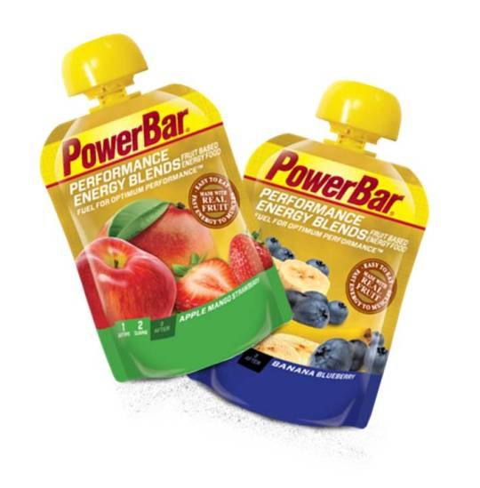 New PowerBar Performance Energy Blends are a great fueling alternative to gels or bars